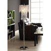 "Kingstown Home Cortona 63"" 3 Light Crystal Floor Lamp"