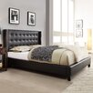 Kingstown Home Mackenna Upholstered Wingback Panel Bed
