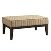 Kingstown Home Kasha Stripe Ottoman I
