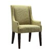 Kingstown Home Mandala Linen Sloped Arm Chair