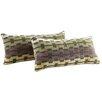 Kingstown Home Ariana Link Kidney Lumbar Pillow (Set of 2)