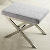 Kingstown Home Silvestre X Vanity Stool