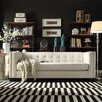Kingstown Home Corvin Square Tufted Sofa