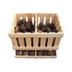 Heritage Traders Potato Pine Storage Box