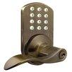 Milocks Keyless Electronic Door Lever with Keypad