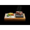 SteakStones 36cm Bamboo Sides and Sauces Set