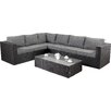 Port Royal Prestige 6 Seater Sectional Sofa Set with Cushions