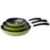 Ozeri Green Earth 3-Piece Non-Stick Frying Pan Set