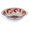Golden Rabbit Lobster Medium Decorative Bowl