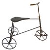 Craft Outlet Vintage Tin Tricycle Sculpture