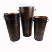 Craft Outlet Vintage Round Pot Planter