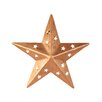 Star Wall Decor with Cutouts - Size: 4 inch - Craft Outlet Garden Statues and Outdoor Accents