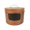 Craft Outlet Bucket with Chalk Board and Lid