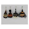 Craft Outlet 4 Piece Papier Mache Halloween Figurine Set