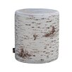 MeroWings Outdoor Birch Stool
