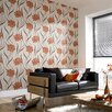 Superfresco Poppy 10m L x 52cm W Roll Wallpaper
