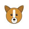 Star Editions Animaru Dog Graphic Art