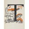 Star Editions Alice's Adventures in Wonderland by Gwynedd M. Hudson Art Print