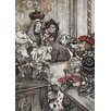 Star Editions Alice's Adventures in Wonderland by Arthur Rackham Art Print