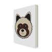 Star Editions Animaru Dog Graphic Art Wrapped on Canvas