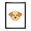 Star Editions Animaru Labrador Dog Framed Graphic Art