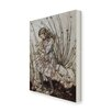 Star Editions Alice's Adventures in Wonderland by Arthur Rackham Art Print Wrapped on Canvas