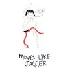 Star Editions Doodles Moves Like Jagger Art Print
