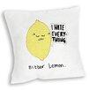 Star Editions Sofakissen Doodles Bitter Lemon