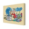 Star Editions Roald Dahl George's Marvellous Medicine by Quentin Blake Art Print Wrapped on Canvas