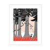 """Star Editions Poster """"Moomins Toffle hiding in the forest"""" von Tove Jansson, Grafikdruck"""
