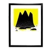 Star Editions Moomins Toffle Stands on a Rock by Tove Jansson Framed Graphic Art