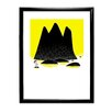 Star Editions Gerahmtes Poster Moomins Toffle Stands on a Rock von Tove Jansson, Grafikdruck