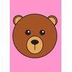 Star Editions Animaru Bear Graphic Art