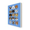 Star Editions Animaru Dogs Graphic Art Wrapped on Canvas