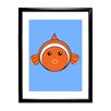 Star Editions Animaru Fish Framed Graphic Art