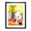 Star Editions Moomins Moomintroll Picking Berries Framed Graphic Art
