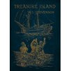 Star Editions Classic Book Art Treasure Island Vintage Advertisement Plaque