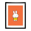 Star Editions Miffy by Dick Bruna Framed Graphic Art