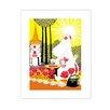 "Star Editions Poster ""Moomins Moomintroll picking berries"" von Tove Jansson, Grafikdruck"