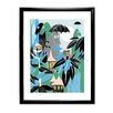 Star Editions Moomins The Moomins in the Rainforest by Tove Jansson Framed Graphic Art