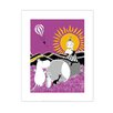 Star Editions Moomins Sad Mymble and Moomintroll by Tove Jansson Graphic Art