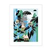 Star Editions The Moomins in the Rainforest by Tove Jansson Graphic Art