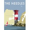 Star Editions The Needles, Isle of Wight by Dave Thompson Vintage Advertisement