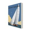 Star Editions Solent Sailing by Dave Thompson Vintage Advertisement Wrapped on Canvas