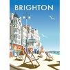 "Star Editions Poster ""Brighton Beach"" von Dave Thompson, Retro-Werbung"