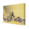 Star Editions Leinwandbild Roald Dahl Matilda, Kunstdruck von Quentin Blake