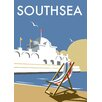 Star Editions Southsea Pier, Portsmouth by Dave Thompson Vintage Advertisement