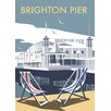 Star Editions Brighton Pier by Dave Thompson Vintage Advertisement