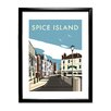 Star Editions Spice Island, Portsmouth by Dave Thompson Framed Vintage Advertisement