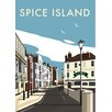 Star Editions Spice Island, Portsmouth by Dave Thompson Vintage Advertisement